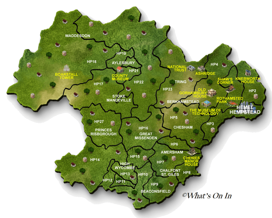 Hemel Hempstead Map